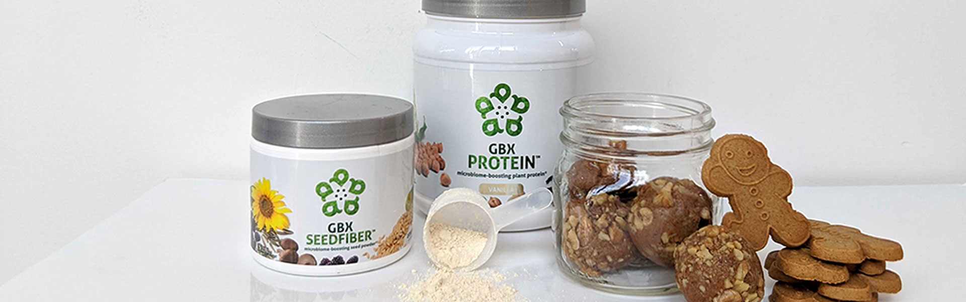 Amare Vegan Gingerbread Protein Bites (image)