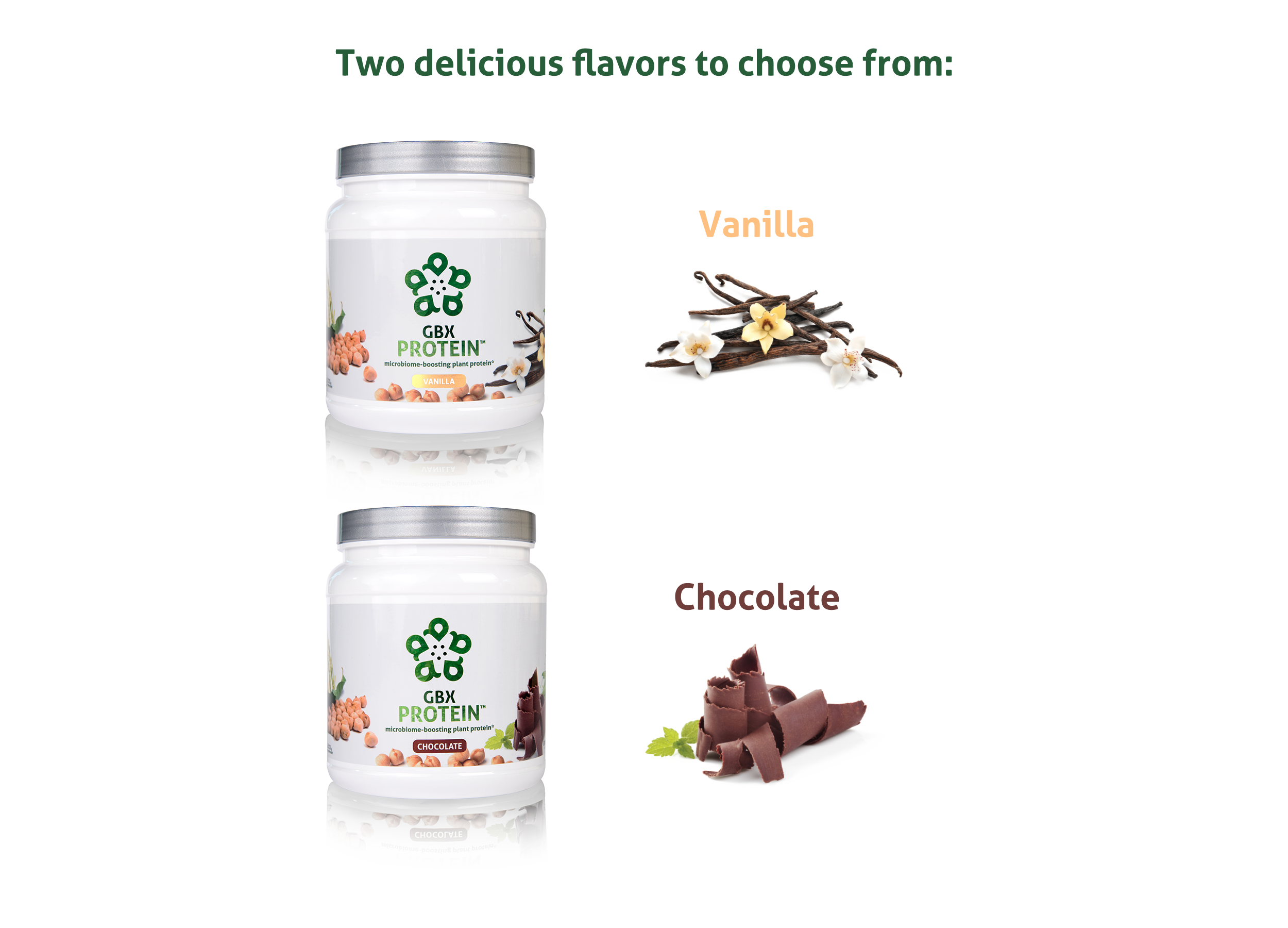 Amare GBX Protein Flavors (image)