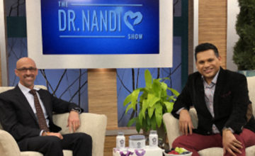 Dr. Talbott on Dr. Nandi Show (image)